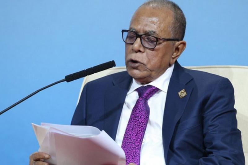 Прэзідэнт Народнай Рэспублікі Бангладэш Абдул Хамід. Фота AP.