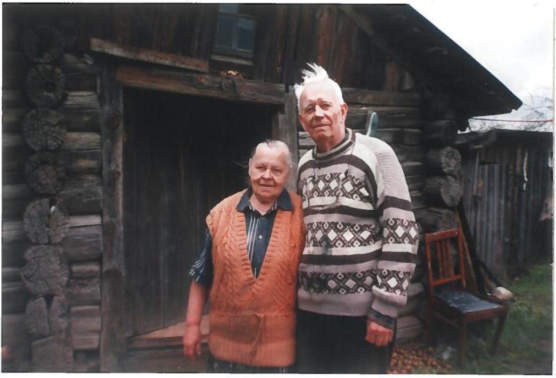 Николай Аврамчик и Анна Семеновна.