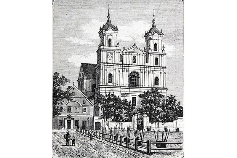 Изображение аптеки времен иезуитов.
