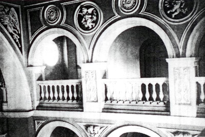 Інтэр'ер дамавога касцёла Булгакаў. Пачатак ХХ стагоддзя.