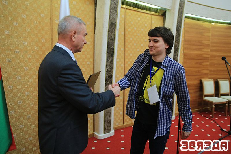 Андрэй Дзічэнка з'яўляецца лаўрэатам прэміі ўжо ў другі раз