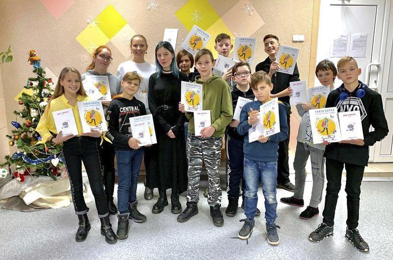 Встреча юных актеров «Театра без границ» с автором.