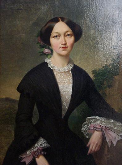 Сафія Булгак, старэйшая дачка першага ўладальніка палаца ў Жылічах.