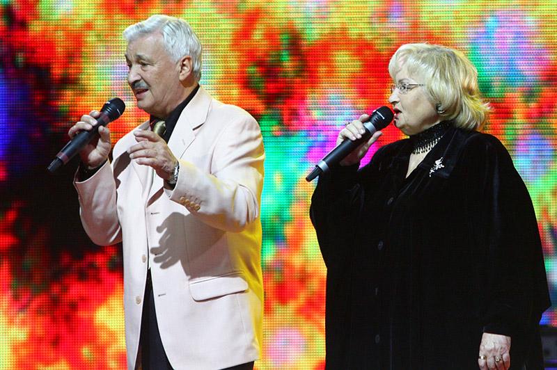 На здымку: Ізмаіл Капланаў і Нэлі Багуслаўская, 2009 год. Фота: БЕЛТА