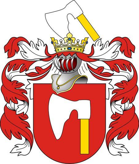 Герб «Сякера».