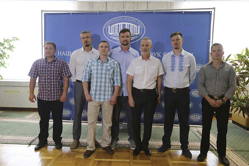 Члены 11-й Беларускай антарктычнай экспедыцыі.