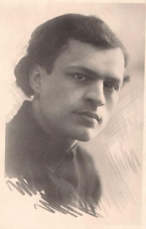 Адам Бабарэка. 1925 год. З фондаў БДАМЛМ.
