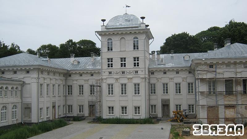Жыліцкі палац у нашы дні.