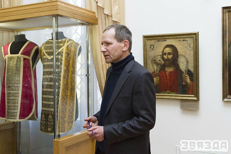 Экскурсавод Сяргей Казуля.
