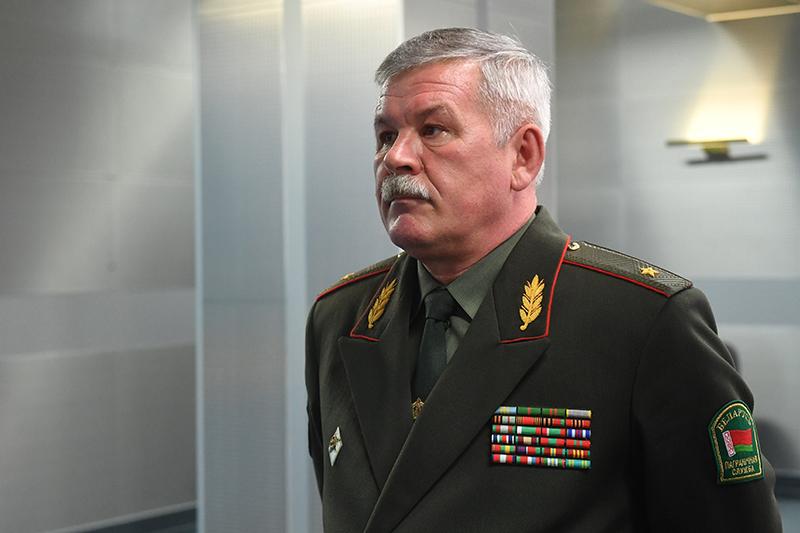 Старшыня Дзяржпагранкамітэта Анатоль Лапо.