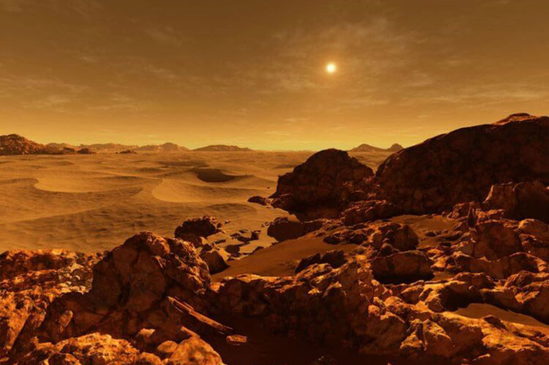 Венера ўяўляе сабой далёка не той трапічны рай, якім бачылі гэтую планету савецкія пісьменнікі-фантасты.