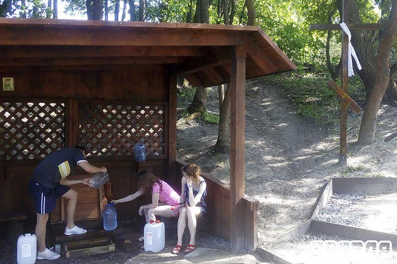 Родники у озера Явицкого