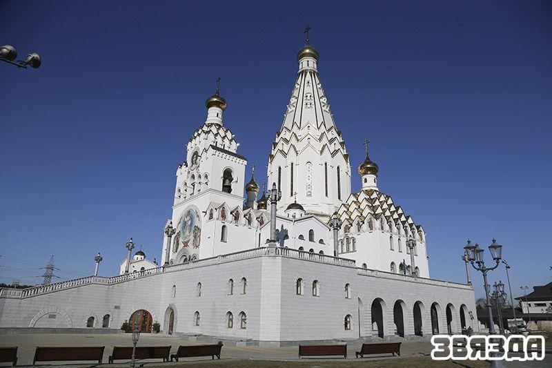 Храм-памятник в честь Всех святых и в память о жертвах, которые послужили спасению Отечества, г. Минск.