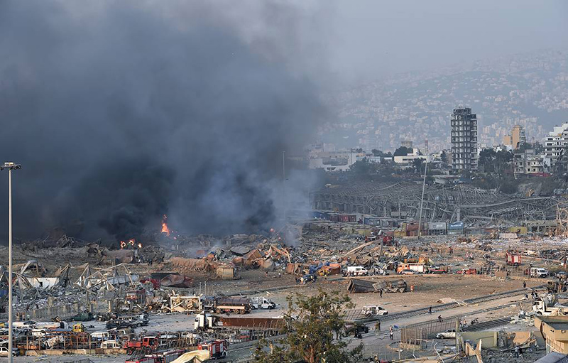Фото: EPA-EFE/WAEL HAMZEH