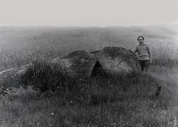 1981 год. У сваім полі, каля камянёў...