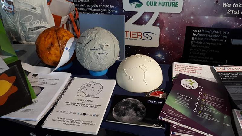 Одна из номинаций фестиваля для STEM-педагогов «Астрономия и исследования космоса в естественнонаучном образовании».