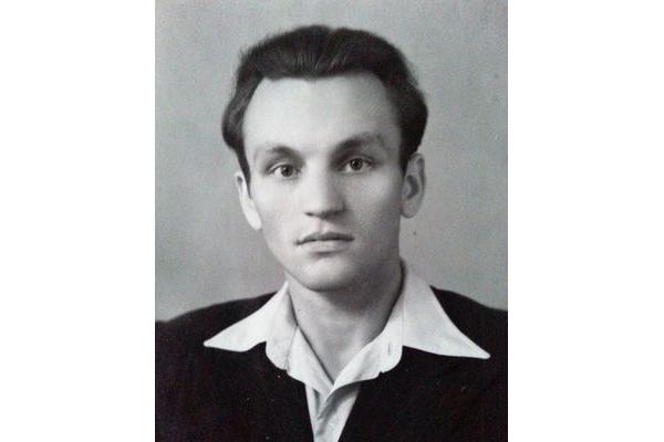 М.Мушынскі — студэнт філфака БДУ, 1951 г.
