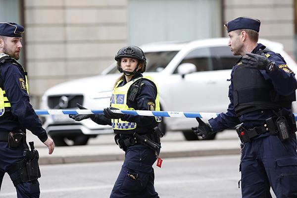 Увхода вполицейский участок вшведском Хельсингборге произошел взрыв