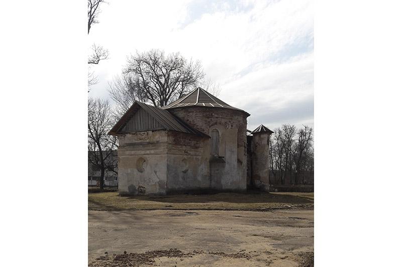 Захаваны кальвінскі збор ХVІ стагоддзя ў мінуўшчыне маёнткуКухцічы.