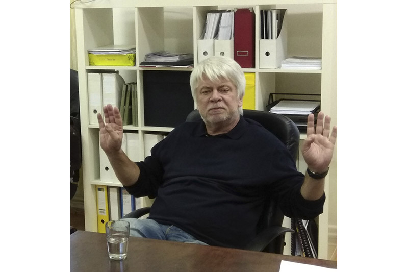 """Прафесар Ян Йірак: """"Адказваць на пытанні школьнікаў бывае вельмі няпроста..."""""""