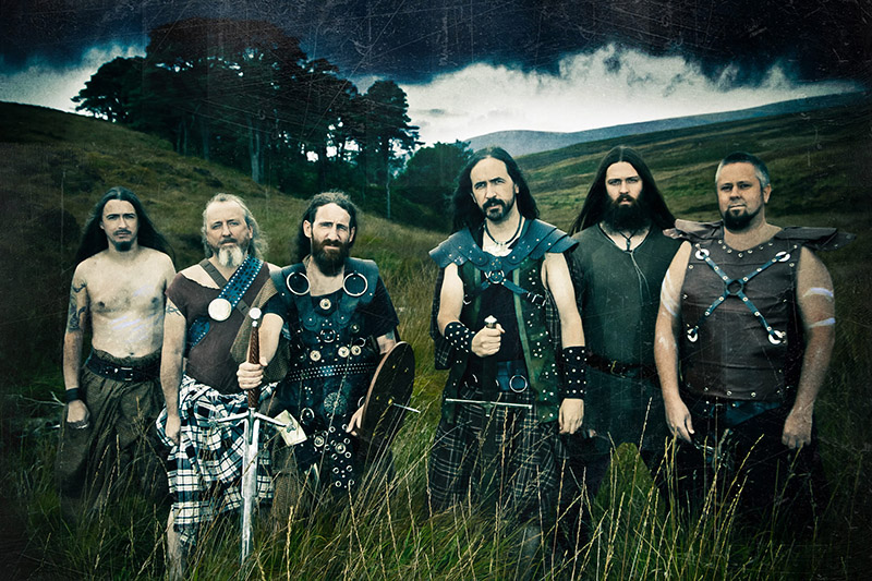 """Фота: metal-maniac.co. Гурт """"Cruachan""""."""