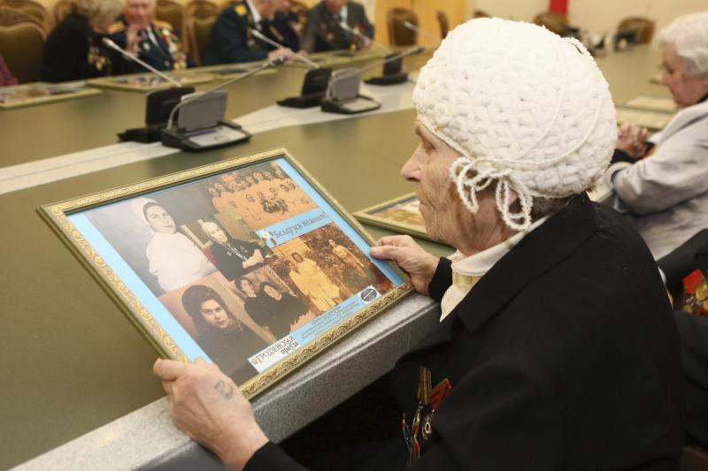 Ветеран Великой Отечественной войны Валентина Тимофеевна Дмитриева. Фото БЕЛТА