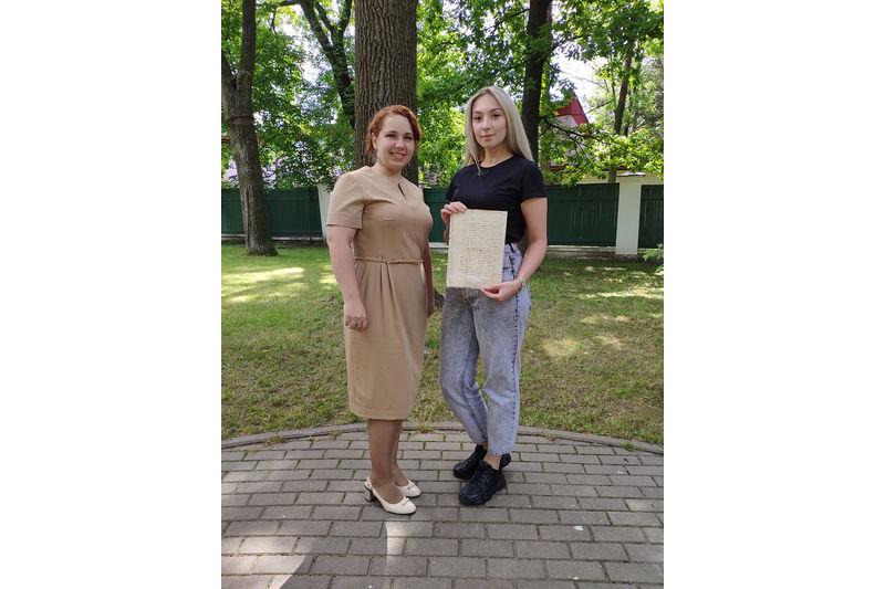 Васіліна Міцкевіч і Марына Жалязняк