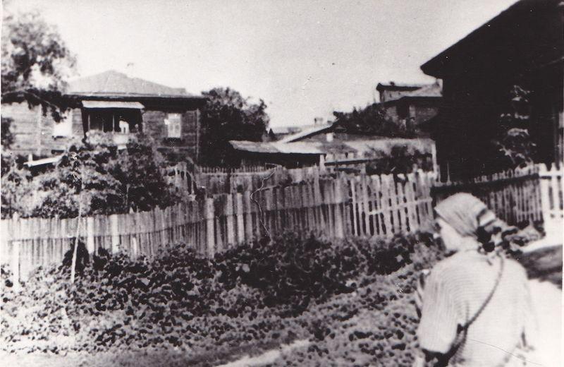 Дом, у якім жылі цёткі Максіма Багдановіча. Фота з фондаў Літаратурнага музея Максіма Багдановіча