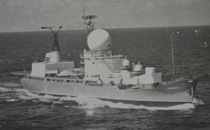 Корабль измерительного комплекса «Чумикан».