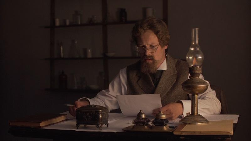 Кадр з фільма «Зігмунд Урублеўскі. Гарачы кісларод».