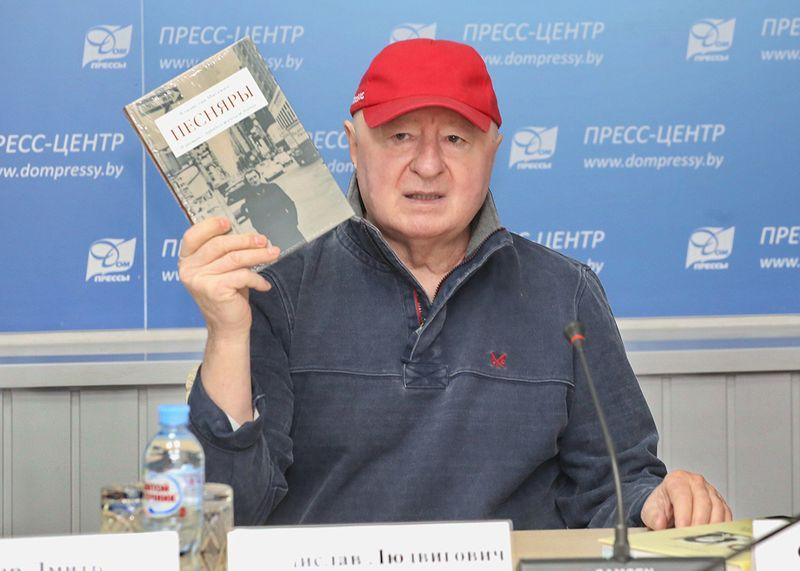 Уладзіслаў Місевіч распавядае пра кнігу «Песняры. Я раман з працягам пішу...»