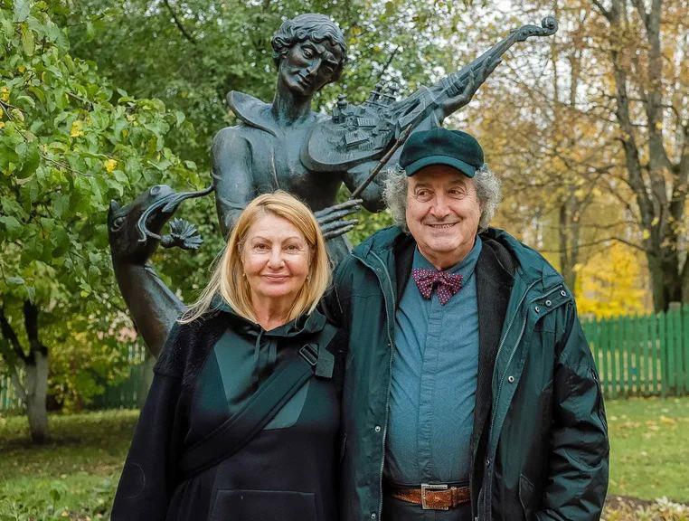 Регина и Марк Хидекель. Фото Алексея Матюшкова.