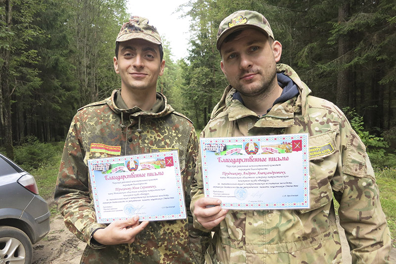 Белорусско-российская поисковая экспедиция «Проня» проводилась по наработкам Ильи Триханова и Андрея Прудникова.