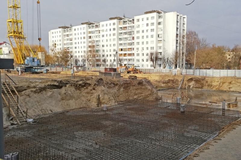 В районе стройки, фото Валерия КОРОЛЯ