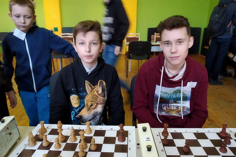 Iлья i Ягор (злева направа).