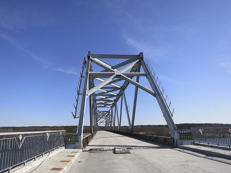 Налета мост будзе ўведзены ў эксплуатацыю.