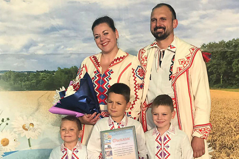 Пераможца абласнога этапу праекта «Уладар сяла» сям'я Мячкоўскіх.