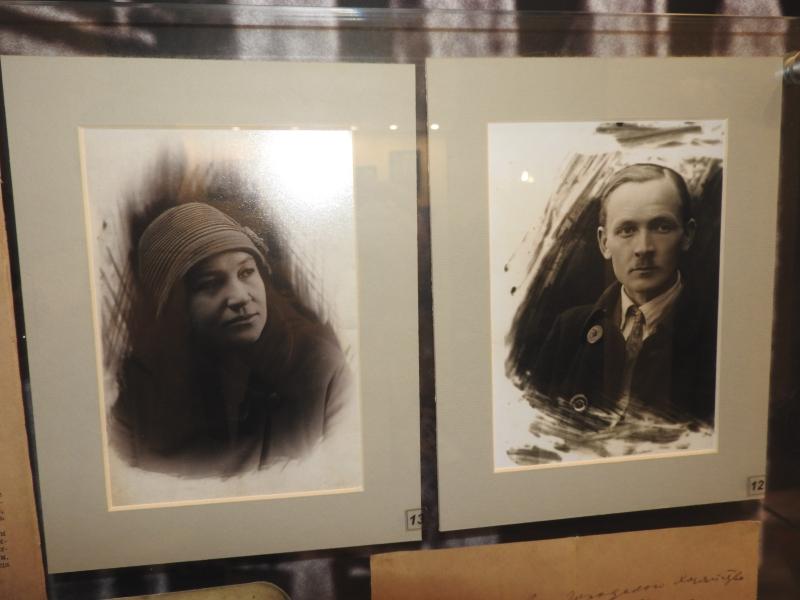 Янка Купала і яго жонка.