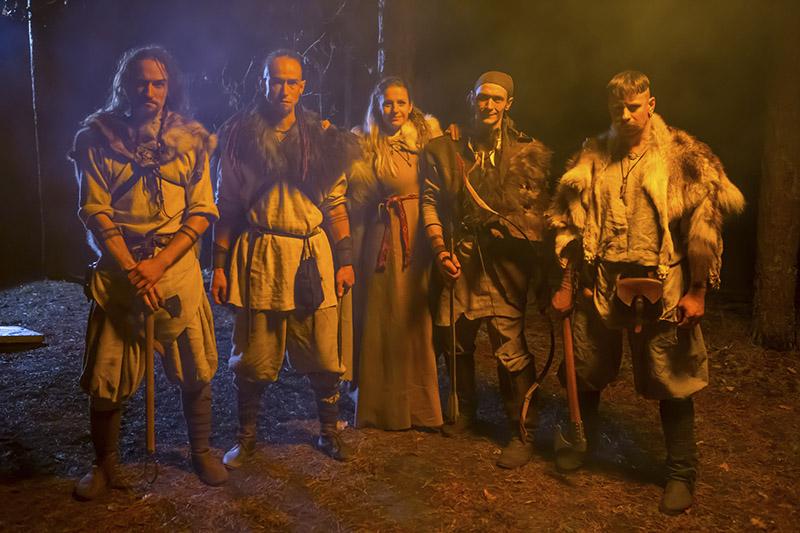 В новом клипе «Сэрца расколата» снялись всей семьей.