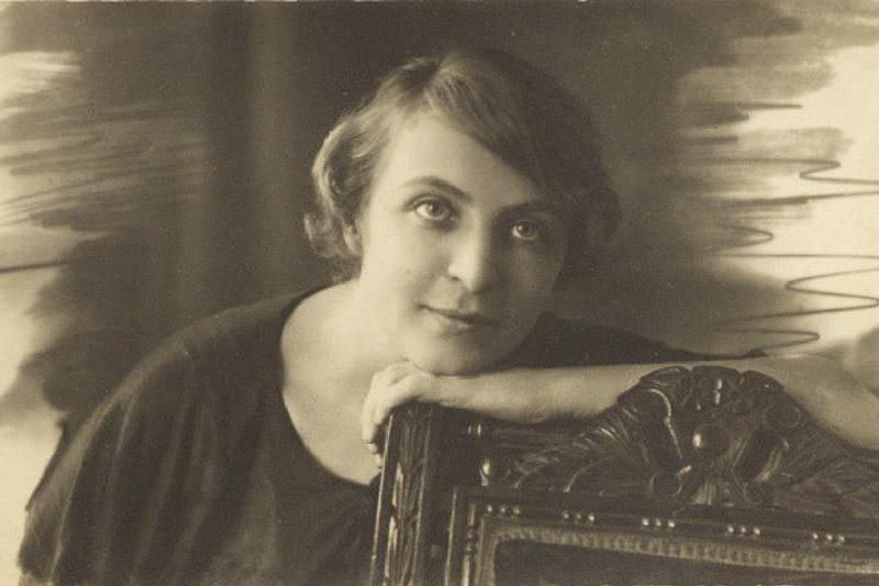 «Сонка-сестра», футуристка Софья Шамардина.