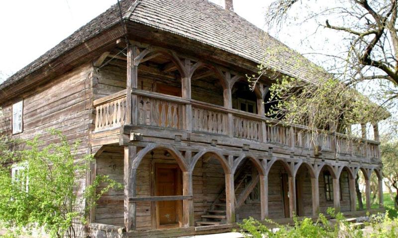 Самое древнее в Беларуси деревянное здание.