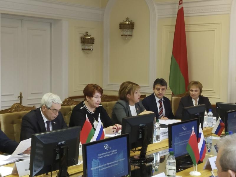 Во время работы комисии.