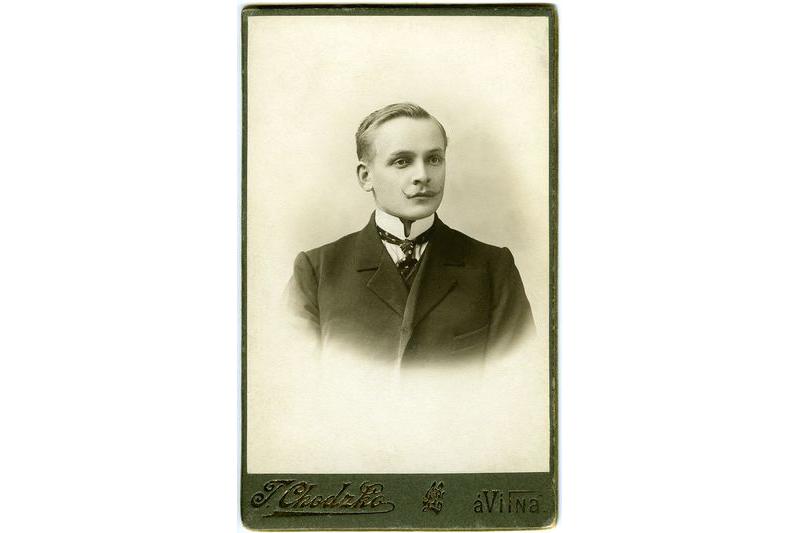 Янка Купала. Вільня. 1908 г