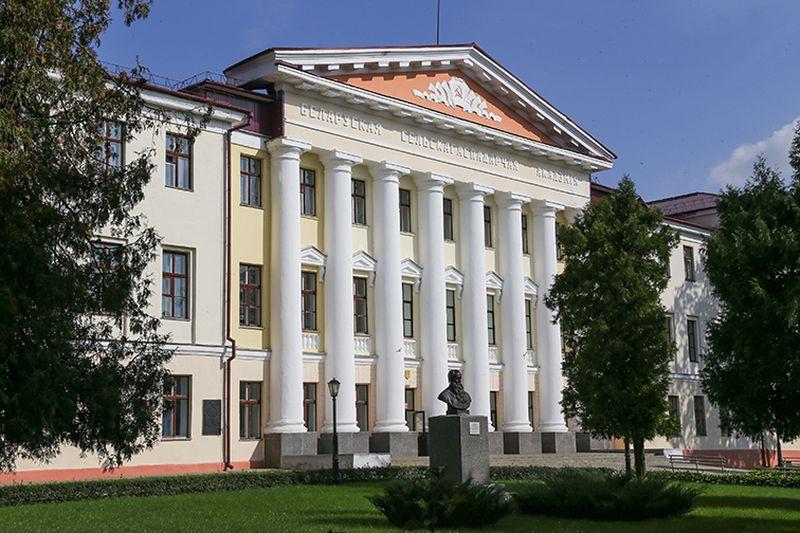 Чацвёрты корпус Беларускай дзяржаўнай сельскагаспадарчай акадэміі ў Горках.