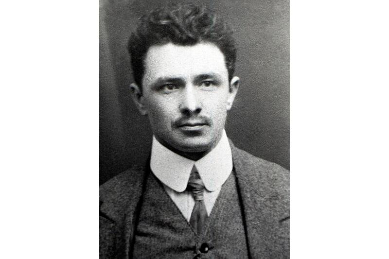 Гальяш Леўчык. Варшава, 1914 (?) г