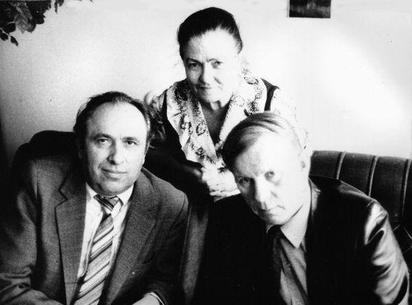 1984 год. У гасцях у Васіля Быкава