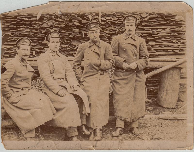 Навучэнцы Рыбінскай мужчынскай гімназіі. 1902 г.  З прыватнага збору М. Труса.