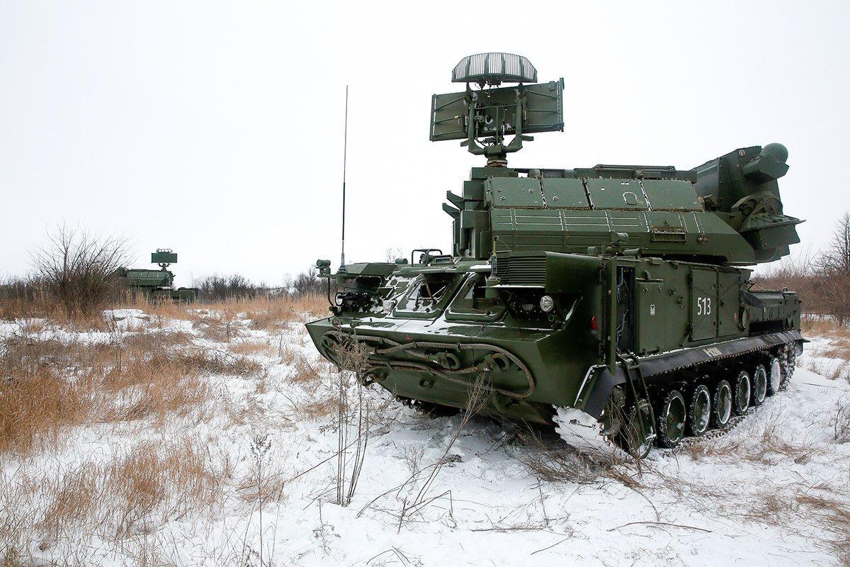 Зенітна-ракетны комплекс «Тор-М2». Фота: scoopnest.com