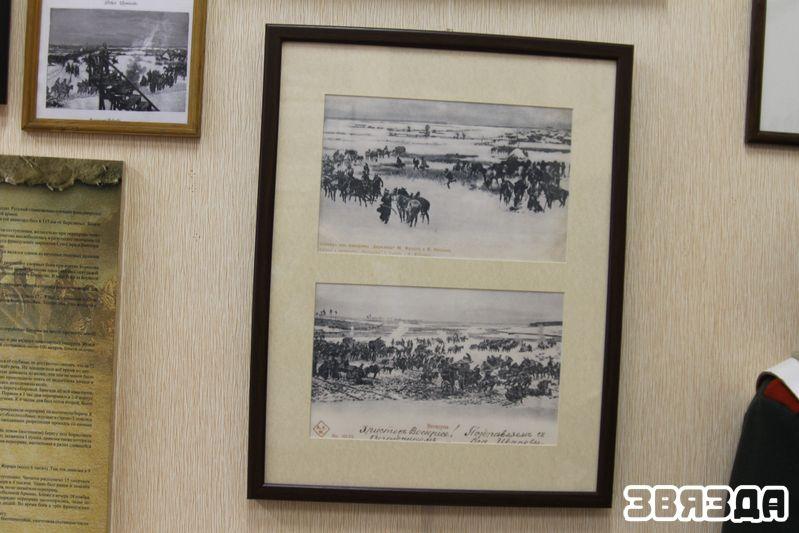 Фотакопія паштовак з калекцыі Э. К. Майданюка — эпізоды панарамы Бярэзіны.