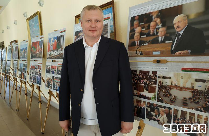 Журналіст Аляксей Шляпаў (Цвер).